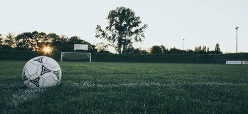 Voetbal-eiwitshakes